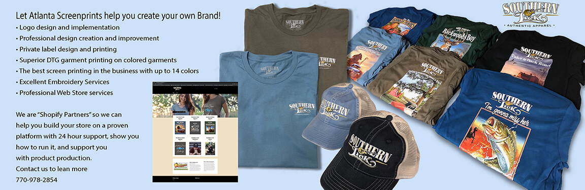 Custom Screen Printing Company Atlanta, Snellville, Lithonia